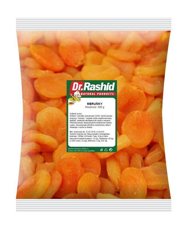 Meruňky, 500 g