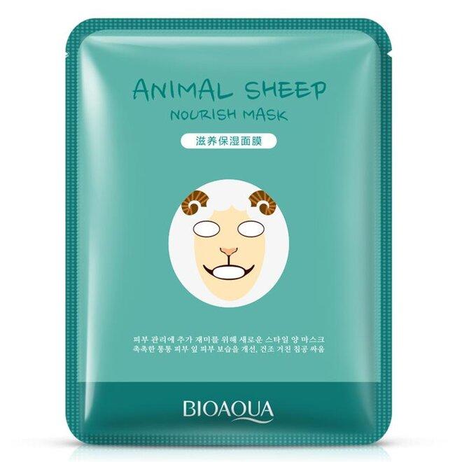 Pleťová maska Bioaqua Sheep 30 g