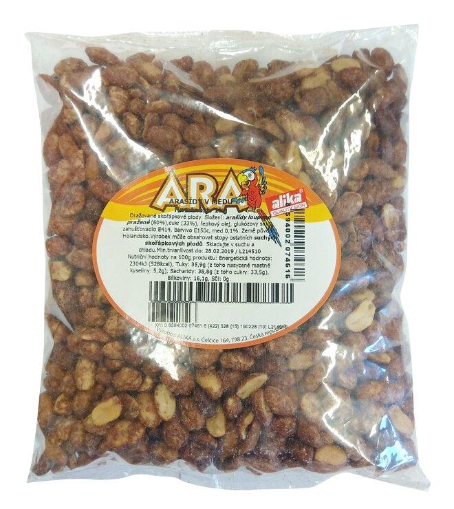 Arašídy v medu, 1000 g
