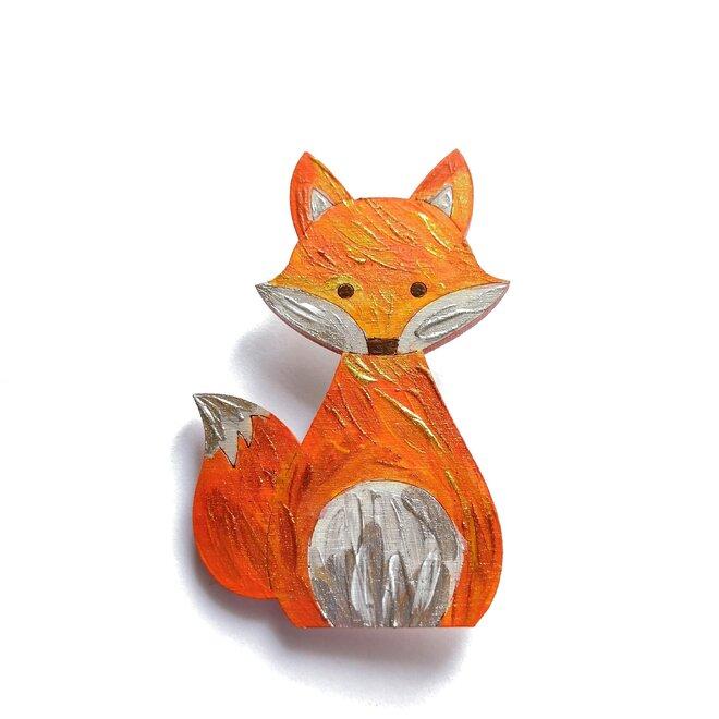 Dřevěná liška