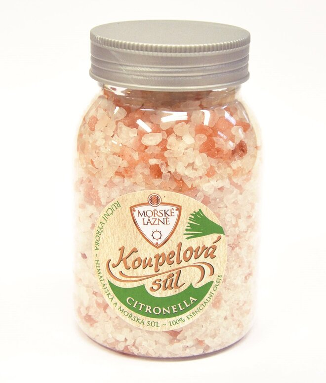 """Himálajská koupelová sůl, 500 g """"Citronella"""""""