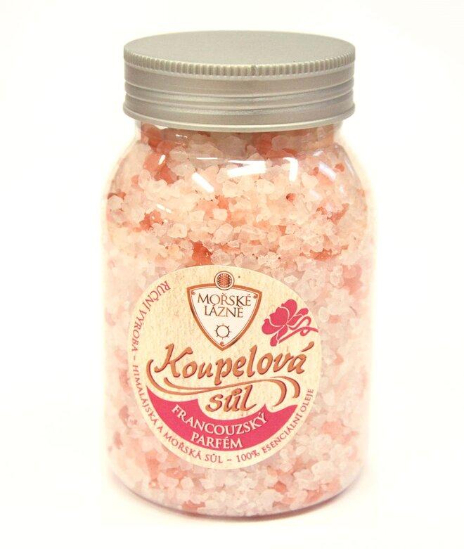 """Himálajská koupelová sůl, 500 g """"Francouzský parfém"""""""