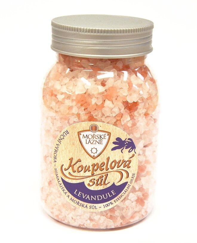 """Himálajská koupelová sůl, 500 g """"Levandule"""""""