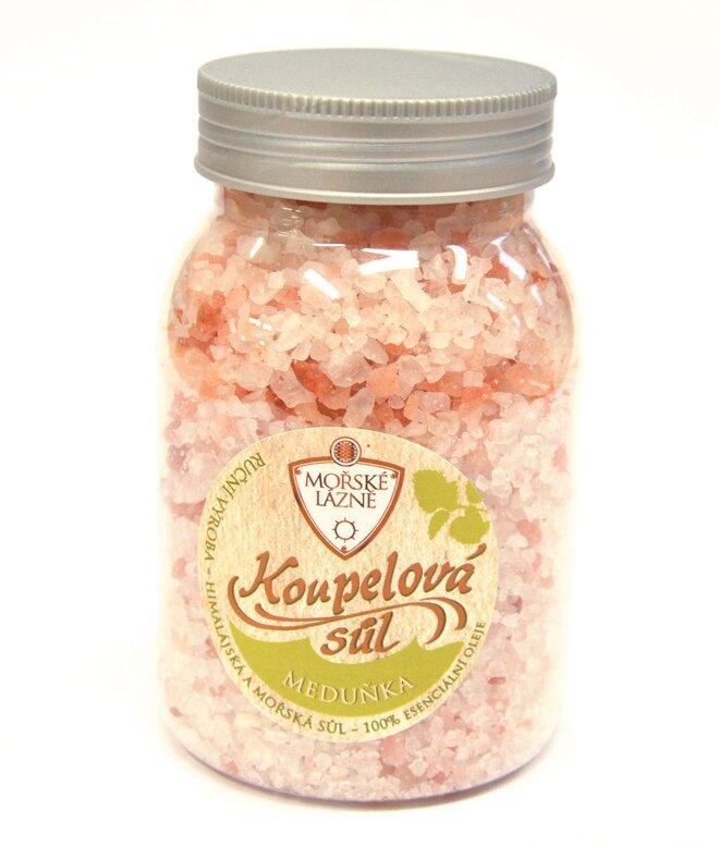 """Himálajská koupelová sůl, 500 g """"Meduňka"""""""