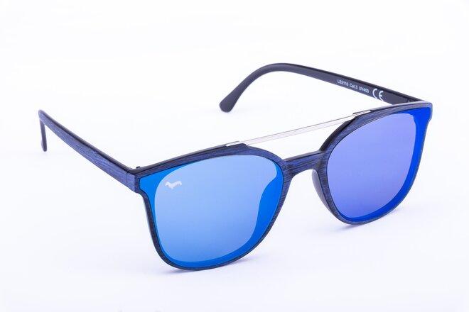 Modré brýle Kašmir Monaco WS - skla modrá zrcadlová