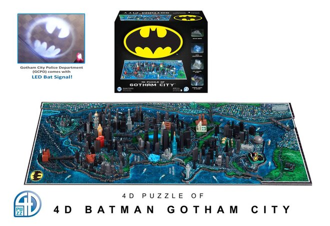 4D Batman - Gotham City