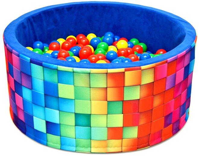 Aga Suchý bazén 90 x 40 cm s míčky 969