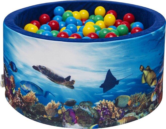 Aga Suchý bazén 90 x 40 cm s míčky 232