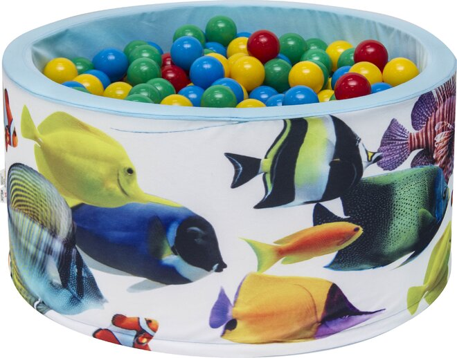 Aga Suchý bazén 90 x 40 cm s míčky 249