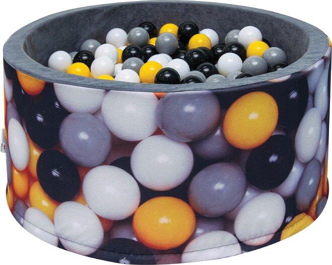 Aga Suchý bazén 90 x 40 cm s míčky 270