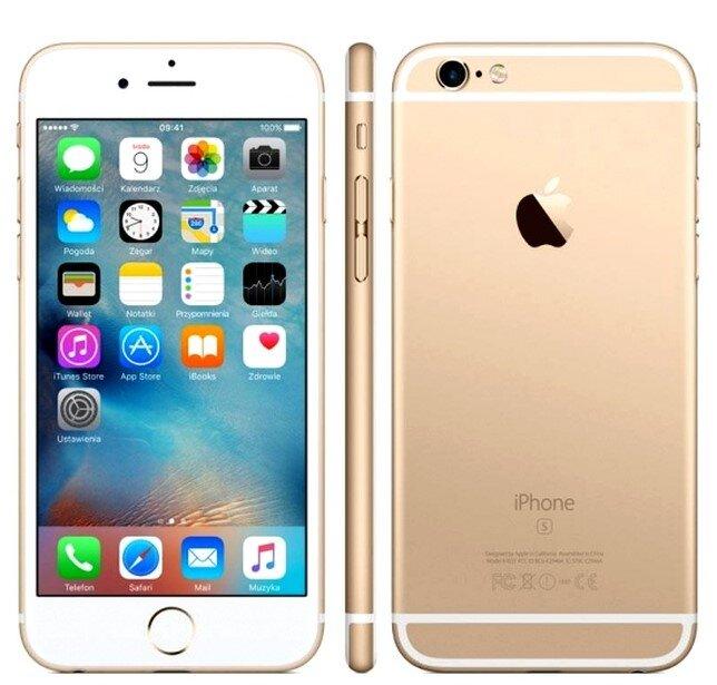 Zánovní Apple iPhone 6S Gold, kategorie: A