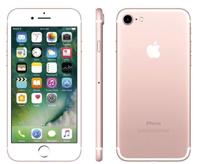 Zánovní Apple iPhone 7 Rose Gold, kategorie: A