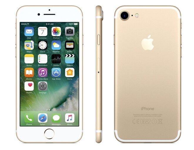 Zánovní Apple iPhone 7 Gold, kategorie: A