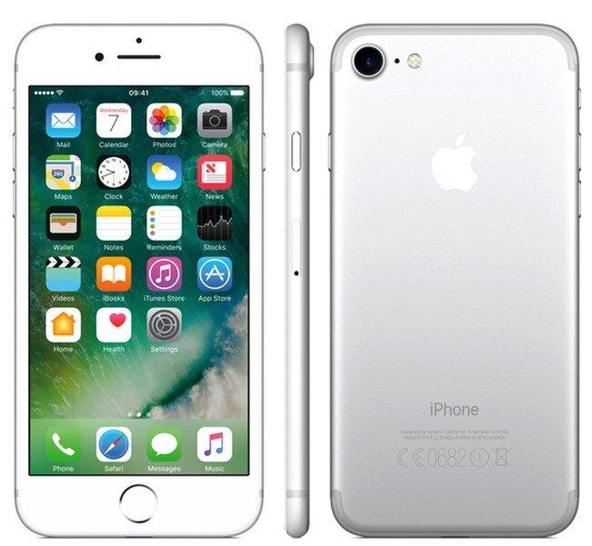 Zánovní Apple iPhone 7 Silver, kategorie: A