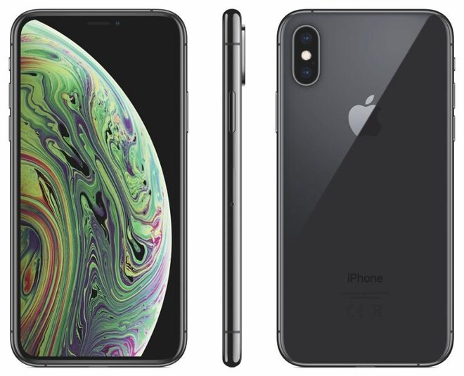 Apple iPhone X 64GB Space Grey, kategorie: A
