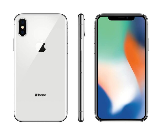 Apple iPhone X 64GB Silver, kategorie: A