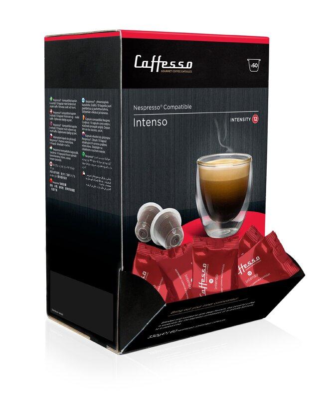 60 kapslí Caffesso Intenso