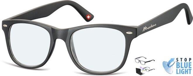Brýle na počítač BLF67 - černé