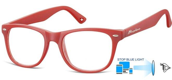 Brýle na počítač BLF67F - červené