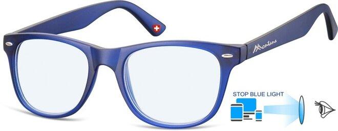 Brýle na počítač BLF67C - modré