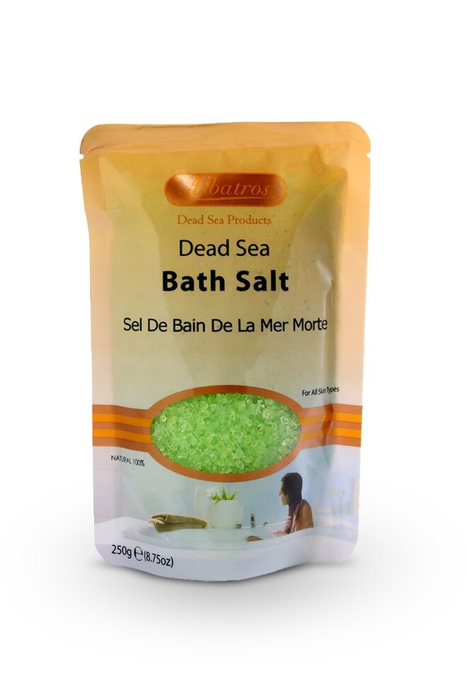 Přírodní sůl z Mrtvého moře - menthol