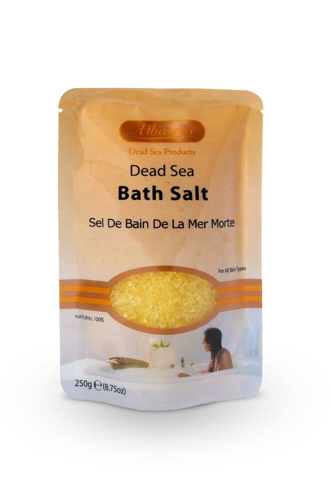 Přírodní sůl z Mrtvého moře - citron