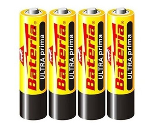 4 ks AAA baterií