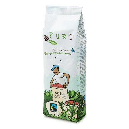 Puro Noble – zrnková káva fair trade, 250 g