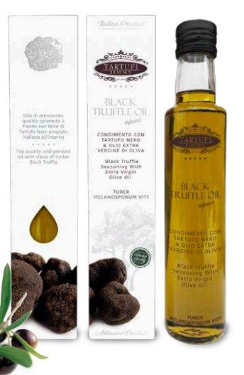 Extra panenský olivový olej s černým lanýžem, 100 ml