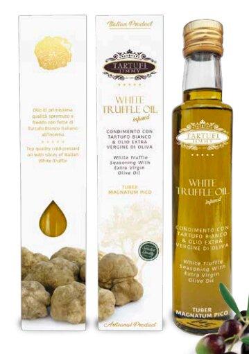 Extra panenský olivový olej s bílým lanýžem, 100 ml