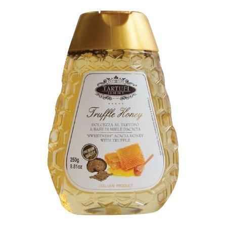 Akátový med s kousky černého lanýže, 250 g