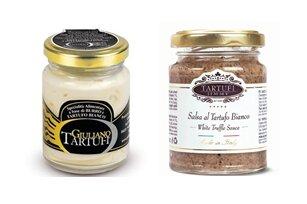Lanýžová pasta z bílého lanýže, 90 g + lanýžové máslo s kousky bílého lanýže, 75 g