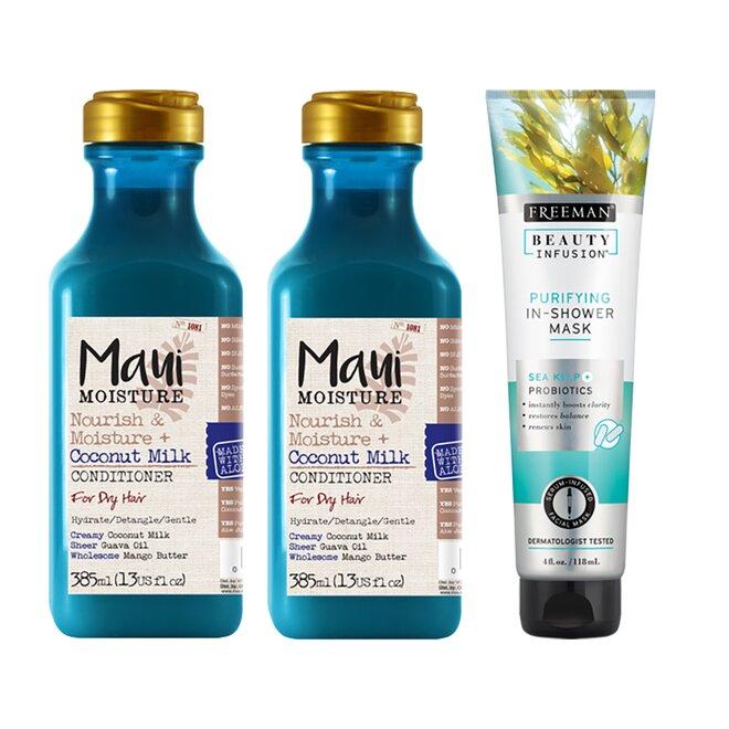 Balíček vlasové kosmetiky pro suché vlasy