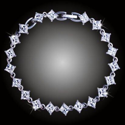 Náramek Gabriella s třpytivými krystaly