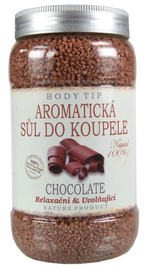 Koupelová sůl s vůní čokolády