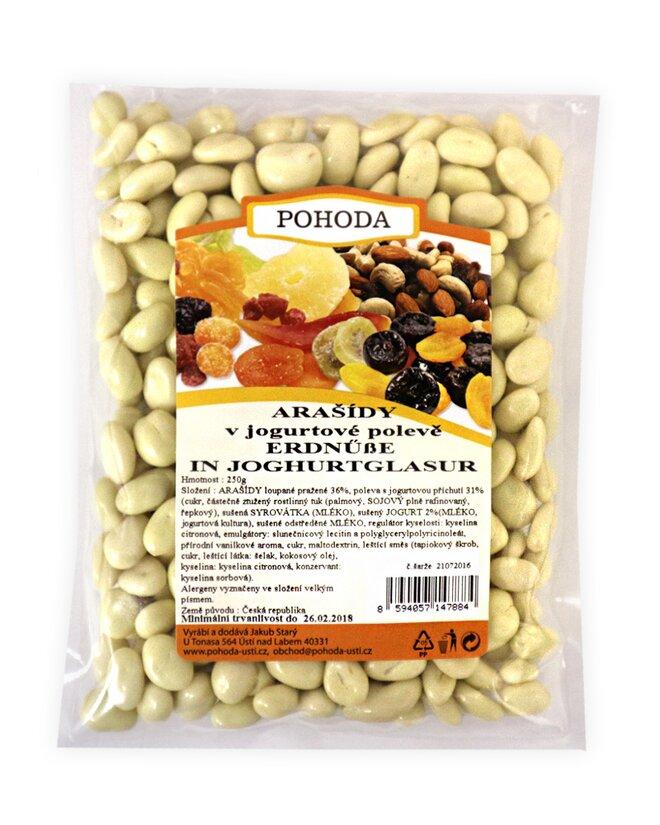 Arašídy v jogurtu, 250 g