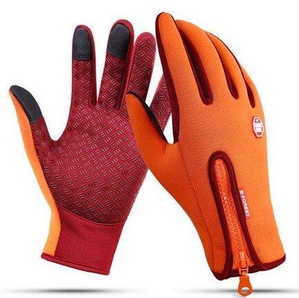 Termo rukavice se zipem