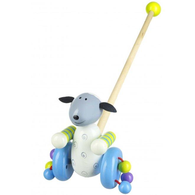 Chodící ovečka na tyčce