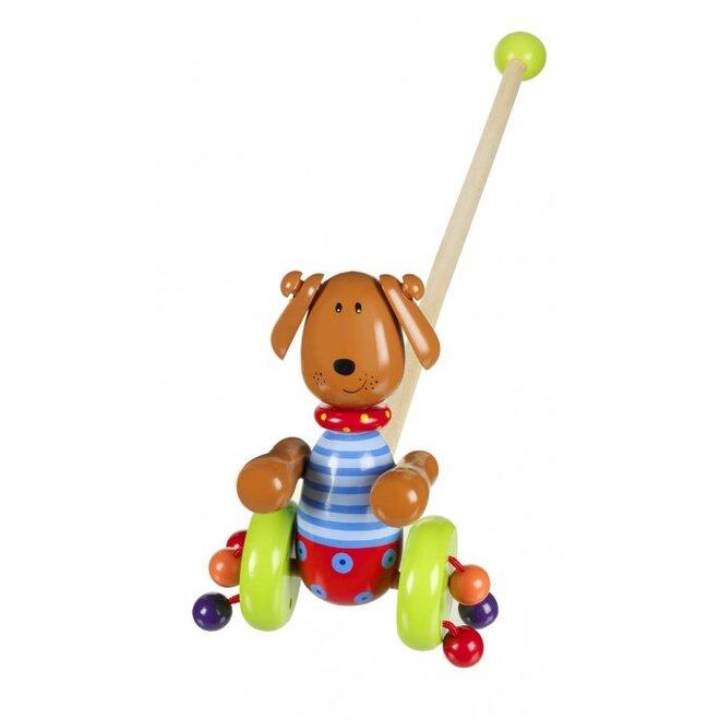 Chodící pes na tyčce