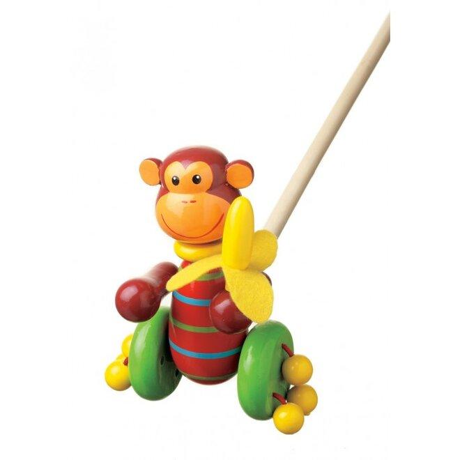 Chodící opice na tyčce