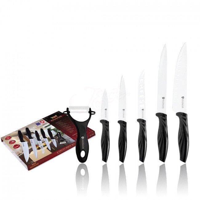 Zillinger - 6dílná sada nožů se škrabkou