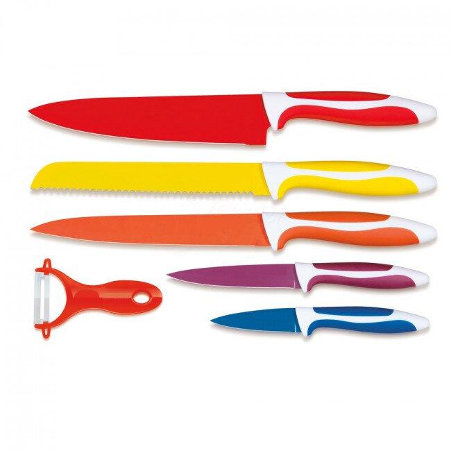 Tidal - 6dílná sada nožů se škrabkou