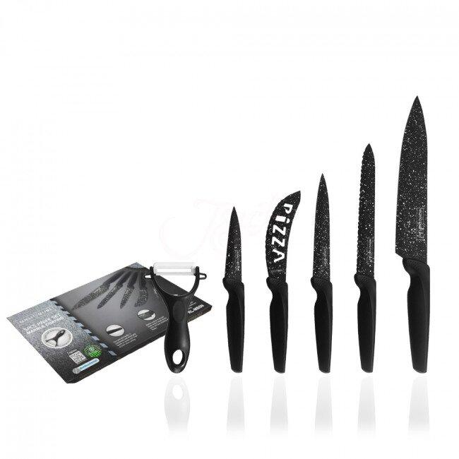 Royalty Line - 6dílná sada nožů se škrabkou