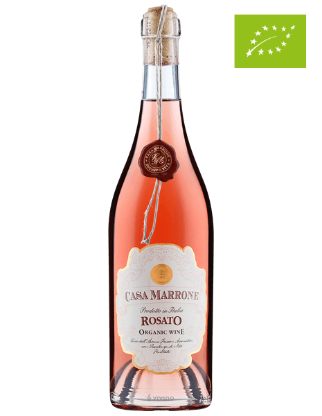 """Růžové víno """"Casa Marrone"""" BIO Rosato"""