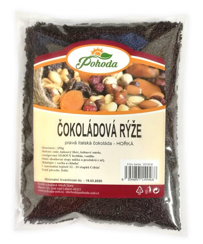 Čokoládová rýže hořká, 250 g