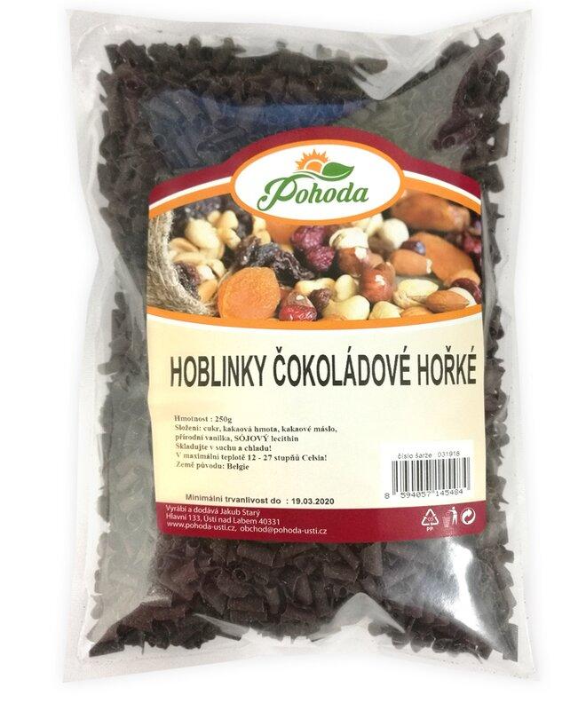 Hobliny z hořké čokolády, 250 g