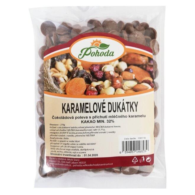 Karamelové dukátky, 250 g