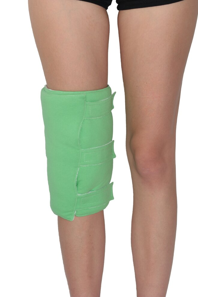 Zábalový pás na nohy, zelená