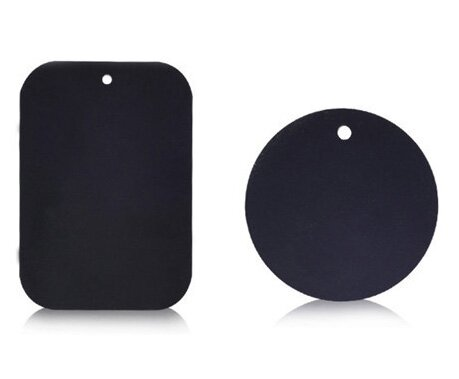 Sada dvou náhradních plíšků pro magnetický držák