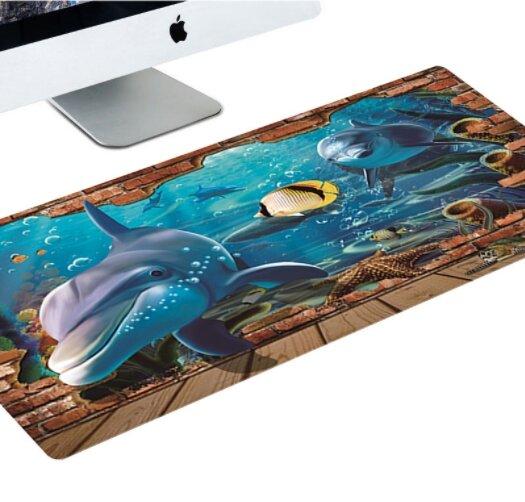 Designová podložka k PC - Delfín